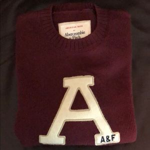 Abercrombie & Fitch Crewneck Sweater - made in USA
